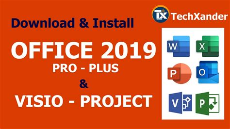 Office 2019 ProPlus + VISIO + PROJECT   Download & Install