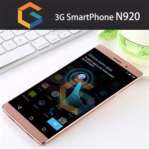 New 6inch Korea Mobile Phone N920 Android 5