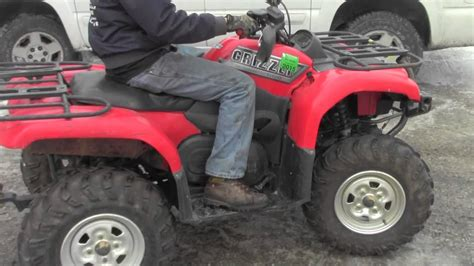 2003 Yamaha Grizzly 660 ATV Going To Parts - YouTube