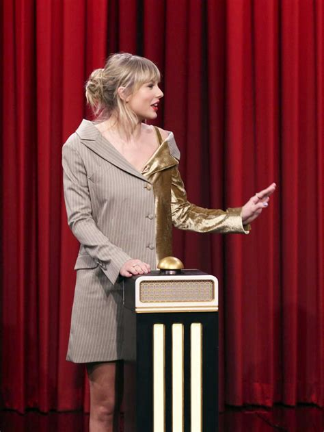 Taylor Swift Attends The Tonight Show Starring Jimmy