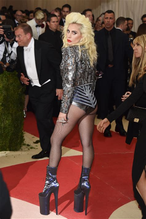 No Pants, No Problem! Lady Gaga Wows on the Met Gala Red